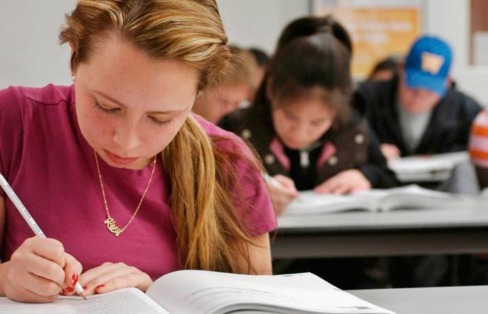 distribuier tiempo durante el examen SAT